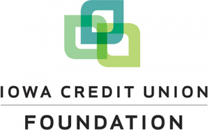Logo for the Iowa Credit Union Foundation