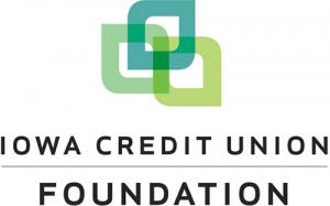 Logo for the Iowa Credit Union Foundation